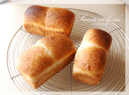 はちさんのゆるスキDiary-自家製ミニ食パン