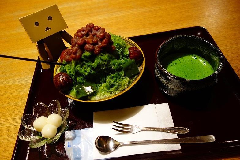 59熊本県 あまみや 渋皮栗の濃厚抹茶氷_E