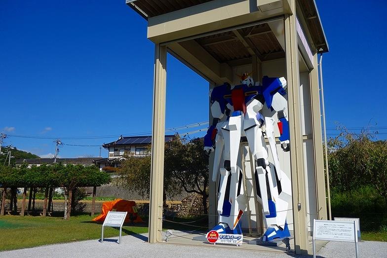 169岡山県 道の駅「久米の里」機動戦士Zガンダム_E