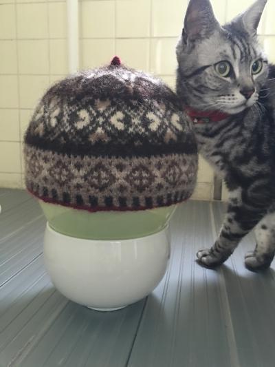 フェアアイル帽子