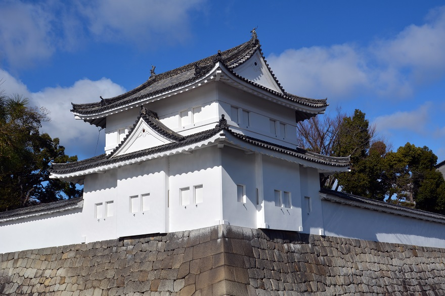 真冬の二条城 (1)
