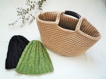 カゴ&帽子