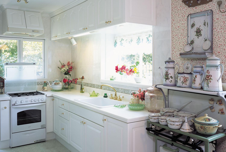 アニーズキッチン 白いキッチン