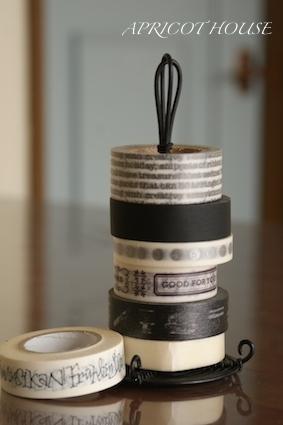 160109白黒マスキングテープ