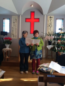2015-12-27 クリスマス礼拝2S
