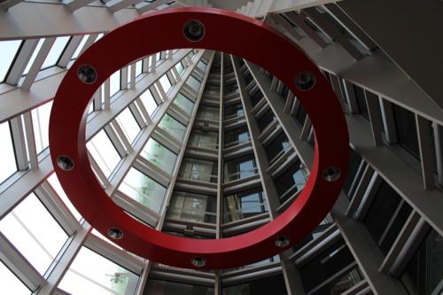 0009:国立新美術館 風除スペースの照明