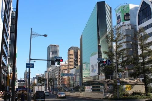 0027:La Porte心斎橋 長堀通りからの眺め