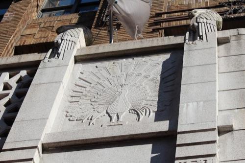0029:大丸心斎橋店本館-ex 孔雀・鷲の彫刻