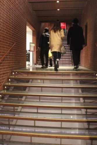 0035:横浜赤レンガ倉庫 保存された階段室①