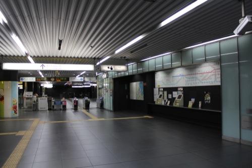 0037:新高島駅舎 B2改札階コンコース