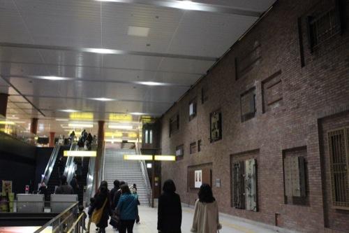 0038:馬車道駅舎 東側コンコース①