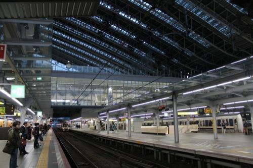 0040:大阪駅舎 プラットホーム
