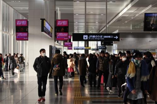 0040:大阪駅舎 南北を繋ぐ連絡通路