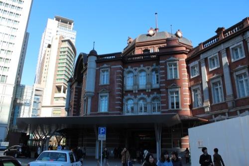 0041:JR東京駅舎 北側ドーム外観