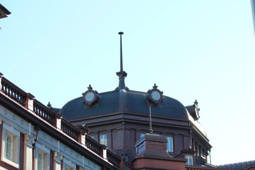 0041:JR東京駅舎 復元された南側ドーム