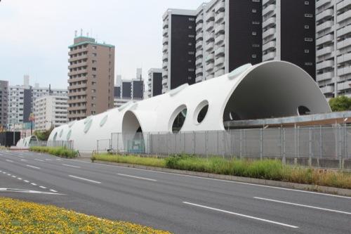 0043:新白島駅舎 外観