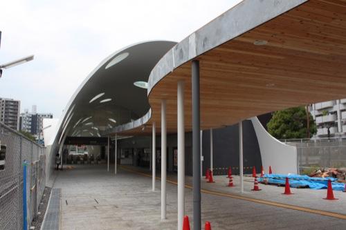 0043:新白島駅舎 北入口