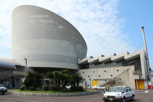 0045:長崎港ターミナルビル ロータリー広場から