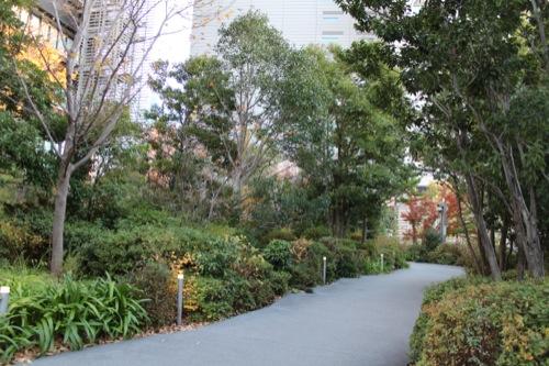 0048:ソニーシティー大崎 南東側の緑地