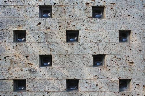 0050:神奈川県立近代美術館鎌倉館 栃木県産の大谷石①