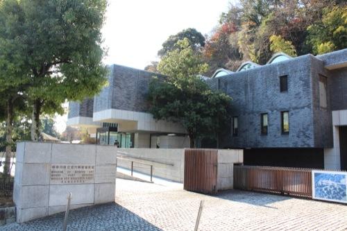 0051:神奈川県立近代美術館鎌倉別館 北側正門