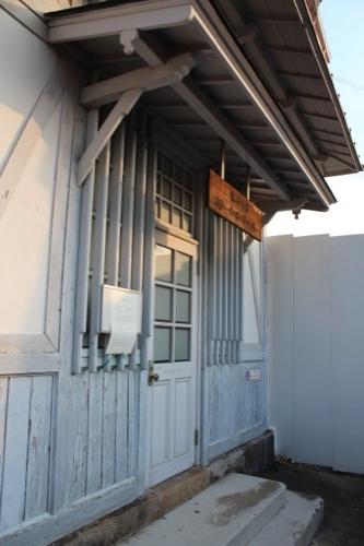 0052:南海 浜寺公園駅舎 閉鎖されたステーションギャラリー
