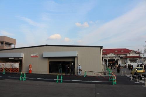 0052:南海 浜寺公園駅舎 今後使用される仮設駅舎
