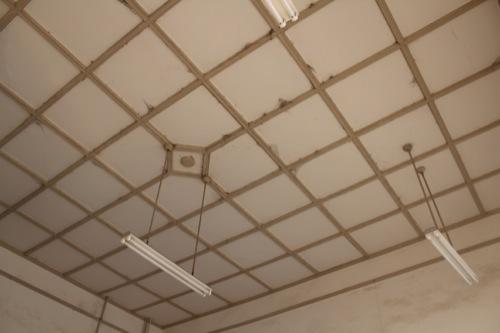0052:南海 浜寺公園駅舎 改札口の天井