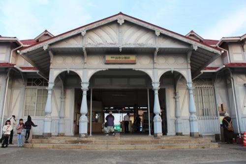 0052:南海 浜寺公園駅舎 駅舎正面から
