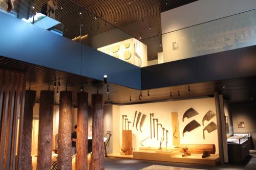 0053:竹中大工道具館新館 展示された大工道具