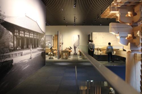0053:竹中大工道具館新館 地下1階の展示の様子