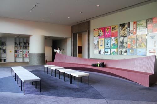 0054:京都国立近代美術館 4階の休憩スペース