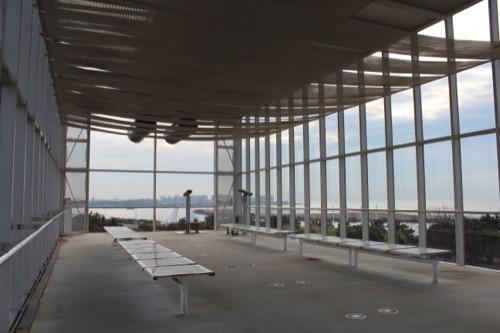 0055:葛西臨海公園レストハウス 2階東側の展望ルーム