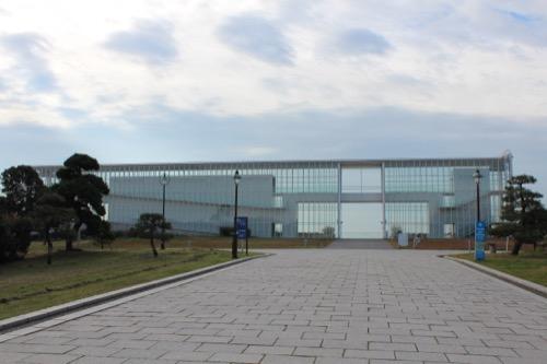 0055:葛西臨海公園レストハウス メインロードからの外観