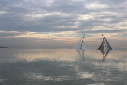 0056:葛西臨海水族園 境界の消えた池と海