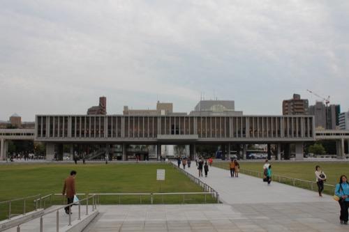 0061:広島平和記念資料館 資料館本館の外観