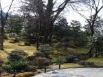 寿月観の前庭