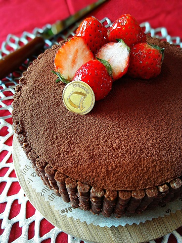 チョコケーキ①