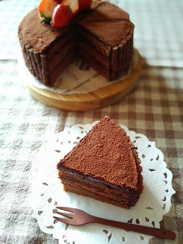 チョコケーキ③