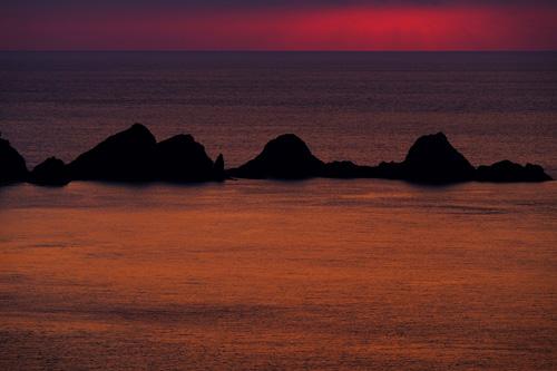 奄美大島・加計呂麻島からの朝日