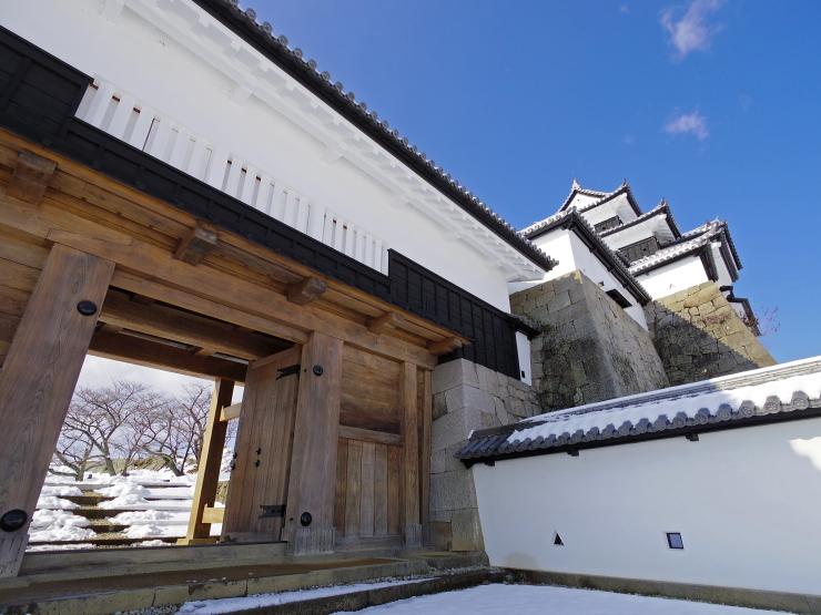 前御門と小峰城