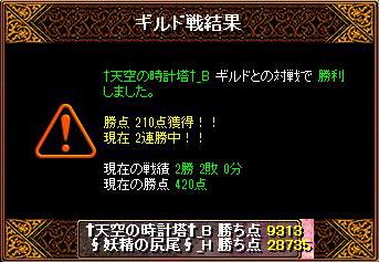 20151209妖精結果