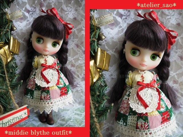 ◆ミディブライス服◆カントリークリスマス★☆1