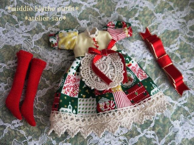 ◆ミディブライス服◆カントリークリスマス★☆3