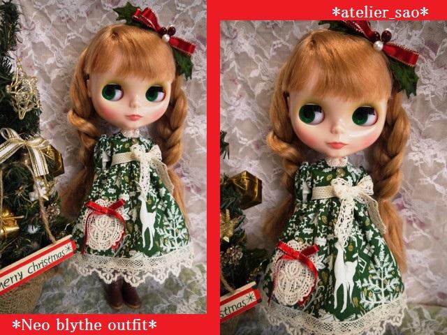 ◆ネオブライス服◆クリスマスの森◇ 1