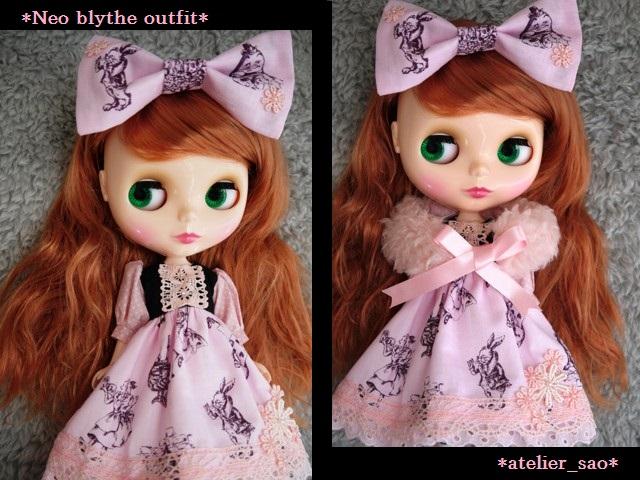 ◆ネオブライス服◆アリス柄ピンク◇ 1