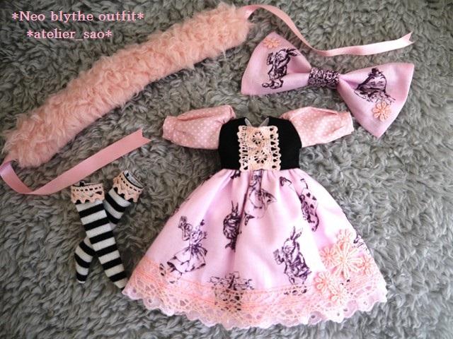 ◆ネオブライス服◆アリス柄ピンク◇ 3