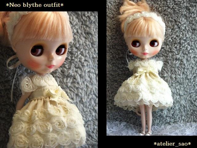 ◆ネオブライス◆薔薇のドレス◇アイボリー◇ 1