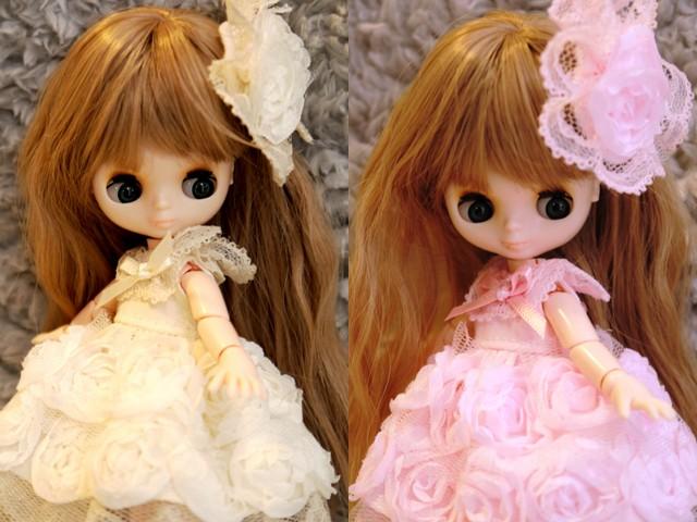 オビツ11薔薇のドレス5