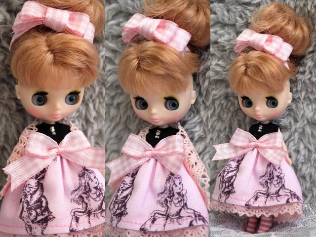 ◆プチブライス◆アリス柄ドレスp2